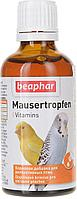 Beaphar Mauser Tropfen, 50 мл. |Витамины для птиц в период линьки|