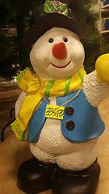 Садовая статуэтка снеговик