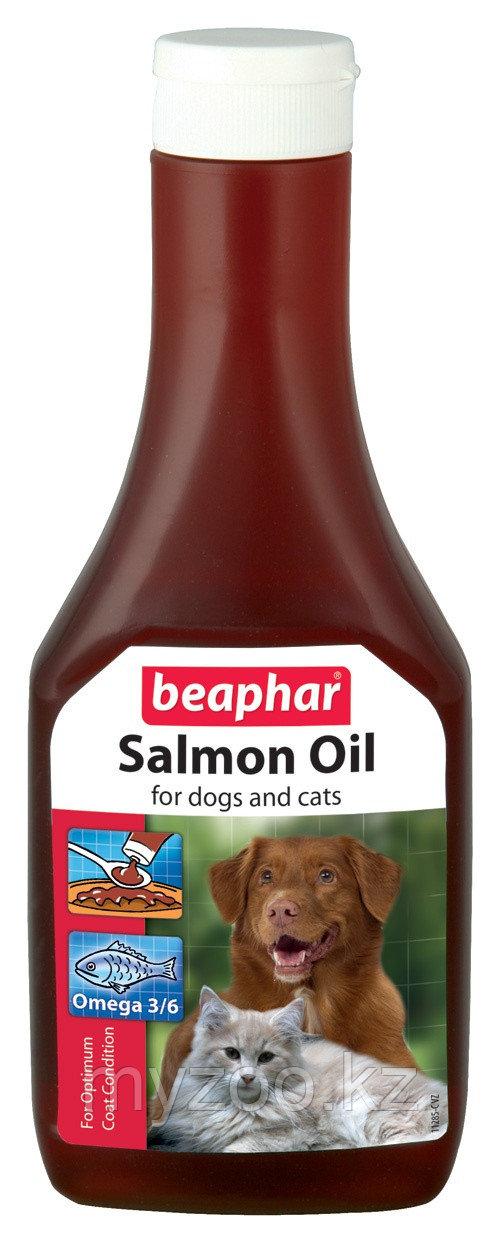 Beaphar Salmon Oil масло лосося для собак и кошек 425 мл
