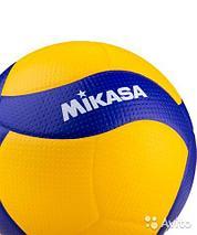 Мяч волейбольный Mikasa V200W, 5 размер, фото 3