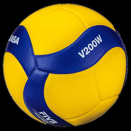 Мяч волейбольный Mikasa V200W, 5 размер, фото 2