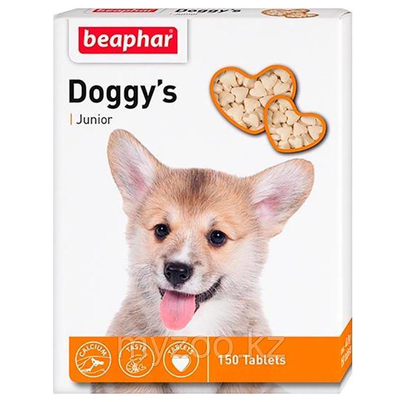 Beaphar Doggy's Junior, Беафар Доггис Джуниор, витамины для щенков, 150табл.