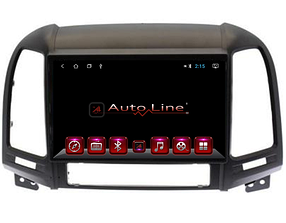 Автомагнитола AutoLine Hyundai Santa Fe 2008-2012 8 ЯДЕР (OCTA CORE)