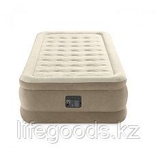 Односпальная надувная кровать со встроенным насосом Intex 64426, фото 3