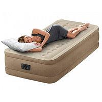 Односпальная надувная кровать со встроенным насосом Intex 64426