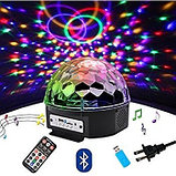 Диско шар Magic Ball Light MP3 (цветомузыка), фото 2