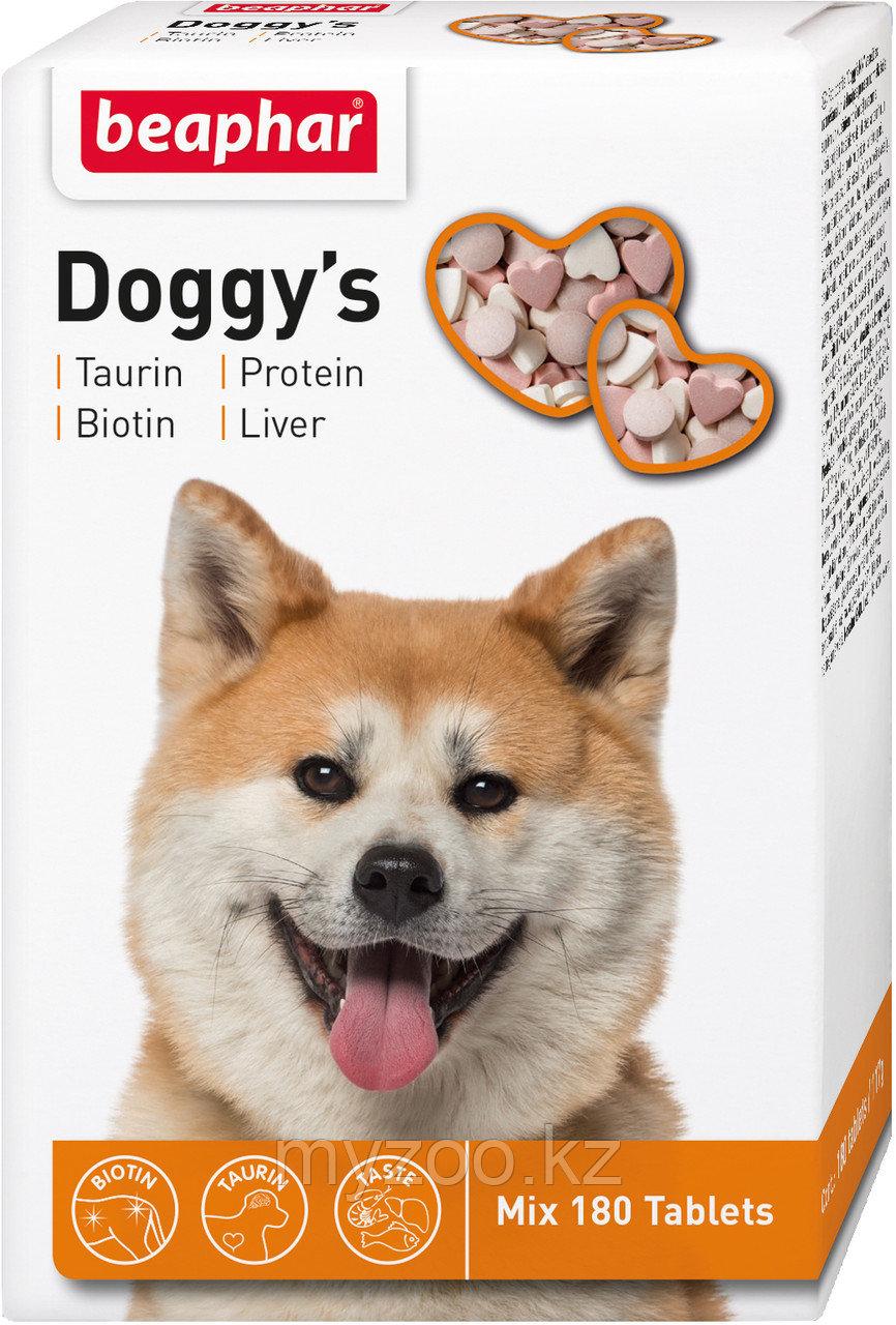 Doggy's Mix Витаминное. лакомство для собак с биотином, таурином, протеином 180 тб