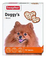 Beaphar Doggy s Junior+Biotin , Беафар Доггис Джуниор+ Биотин, витамины для щенков, 75 табл.