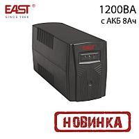 ИБП линейно-интерактивный EA200, 1200ВА/720Вт, 8AH