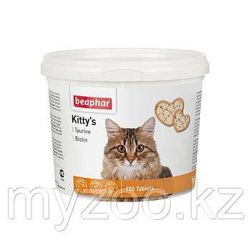 Beaphar Витамины Kitty's Mix, 750 таб. |Беафар Киттис Микс таурин-биотин|