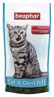 Beaphar Cat-A-Dent-Bits, Беафар Подушечки для кошек для чистки зубов, уп. 35гр