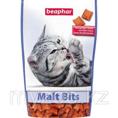 Beaphar Malt Bits, Беафар Подушечки для вывода шерсти у кошек, 35гр.
