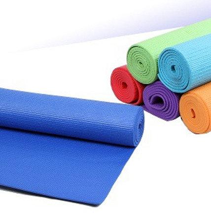 Коврик для йоги и фитнеса (йогамат) 5 мм