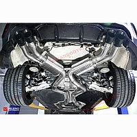 Выхлопная система Veleno на BMW X5M F85 и BMW X6M F86 2014-2018