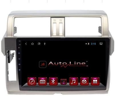 Автомагнитола AutoLine Toyota Prado 155 2014-2015 ПРОЦЕССОР 4 ЯДРА (QUAD CORE), фото 2