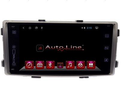Автомагнитола  AutoLine  Toyota  Fortuner/Hilux 2013-2016 ПРОЦЕССОР 8 ЯДЕР (OCTA CORE)
