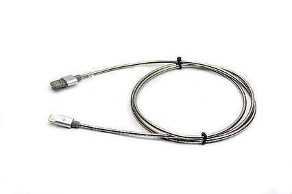 Кабель USB Remax RC-080A, USB Type-C, мет. оплетка, длина 1 м.