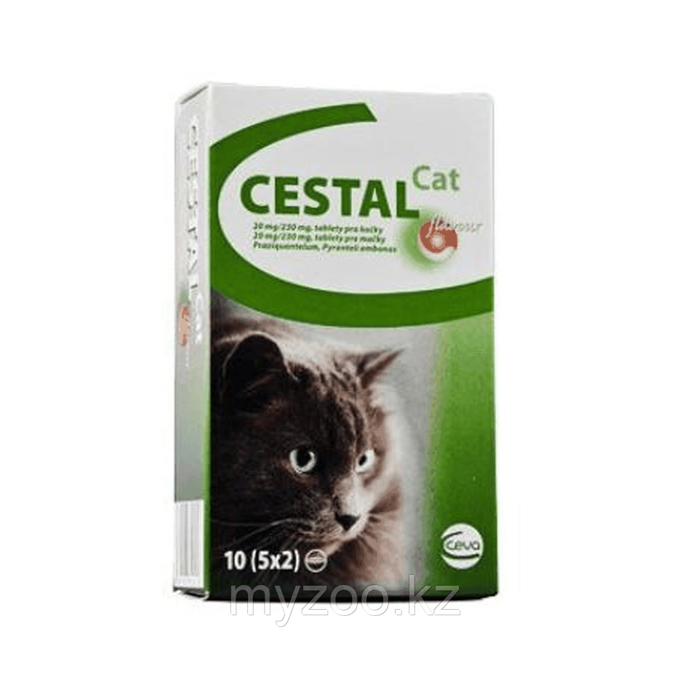 ЦЕСТАЛ КЭТ, антигельминтик для кошек, 1 табл.