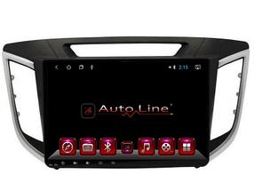 Автомагнитола AutoLine Hyundai Creta IX-25 2015-2016 ПРОЦЕССОР 4 ЯДРА (QUAD CORE)