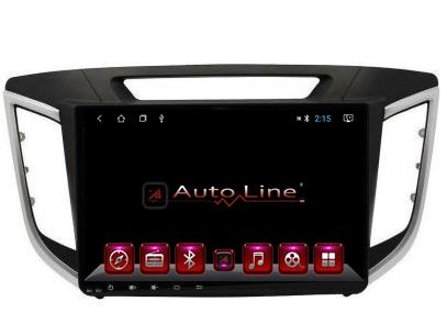 Автомагнитола AutoLine Hyundai Creta IX-25 2015-2016 ПРОЦЕССОР 4 ЯДРА (QUAD CORE), фото 2