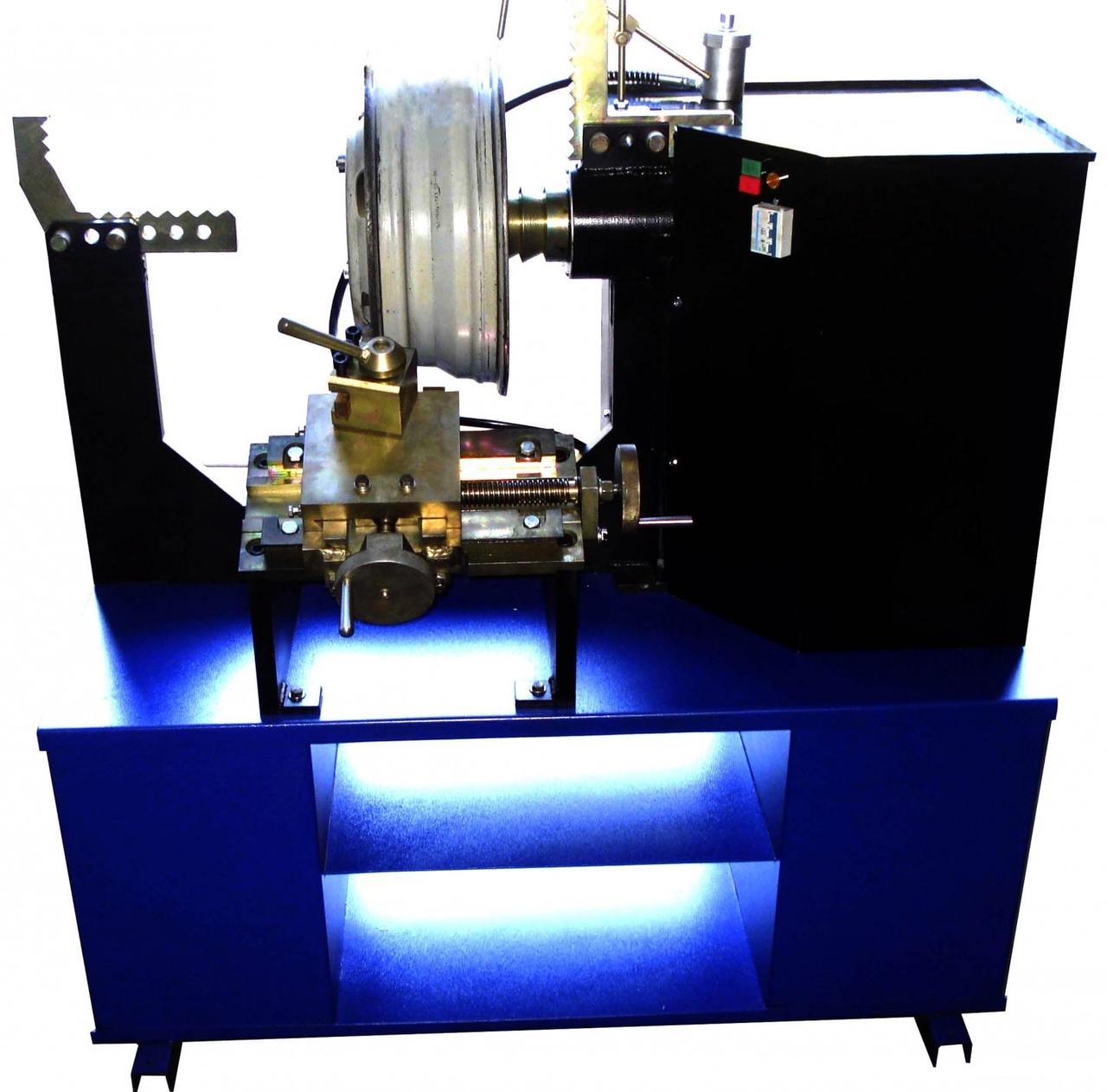 Станок для правки литых дисков STRONGBEL 21LR с токарной группой (электропривод вала )