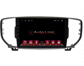 Автомагнитола AutoLine  Kia Sportage 2016-2018 HD ЭКРАН 1024-600 ПРОЦЕССОР 4 ЯДРА (QUAD CORE)