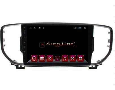 Автомагнитола AutoLine  Kia Sportage 2016-2018 HD ЭКРАН 1024-600 ПРОЦЕССОР 4 ЯДРА (QUAD CORE), фото 2