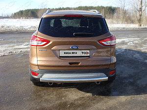 Защита заднего бампера дуга Ford Kuga 2013-2016