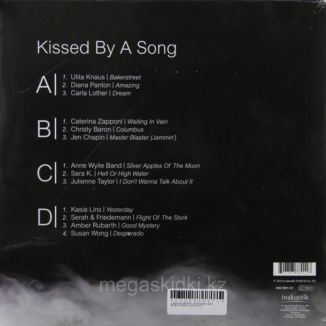 Виниловая пластинка Inakustik LP Dynaudio - Kissed By A Song (2 LP) - фото 2