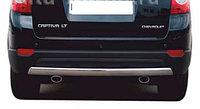 Защита заднего бампера дуга Chevrolet Captiva 2011-2013