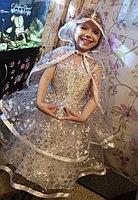 """Платье """"Снежинка"""", новогоднее платье для девочки."""
