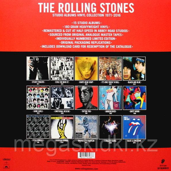 Сборник виниловых пластинок Pro-Ject LP Rolling Stones 1971-2016 - фото 3