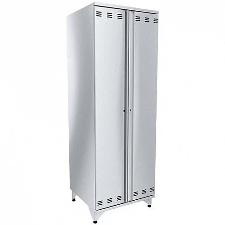 Шкаф для хлеба двери распашные окраш (10 полок из н/стали), сварной ШКХ-Р-О (660х640х1950(1970)мм