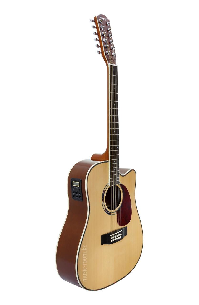 Электроакустическая 12-ти струнная гитара  Adagio MDF41127CЕQN
