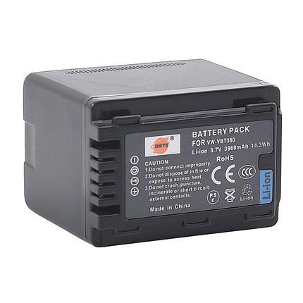 Аккумуляторы VW-VBT380 от DSTE на камеры Panasonic, фото 2