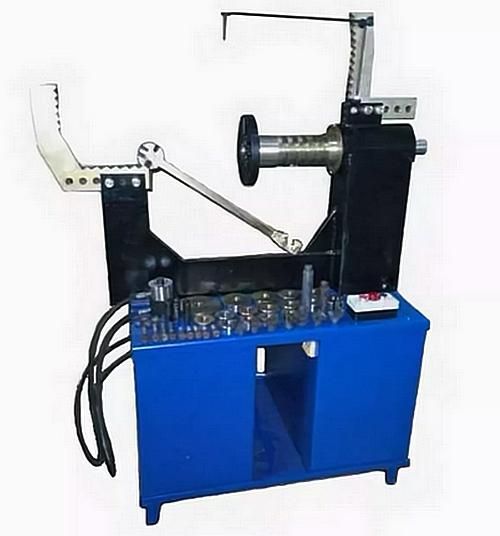Станок для правки литых дисков STRONGBEL 21LL  без токарной группы  (электропривод вала)