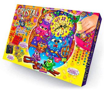 Набор для творчества «Настенные часы своими руками» MOSAIC CLOCK Danko Toys (Для девочек)
