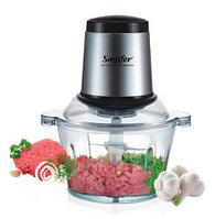 Чоппер кухонный электрический со стеклянной чашей Sonifer SF-8022 {1,8л}