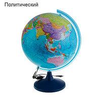 Глобус с подсветкой от сети Globen «Классик Евро» {физический, политический, рельефный} (политический / 21 см)