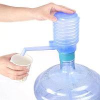 Помпа механическая «Гормошка» для бутылей воды LuazON {11, 19 л.}