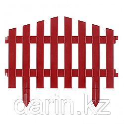 """Забор декоративный """"Марокко"""", 28 х 300 см, терракот, Россия, Palisad"""