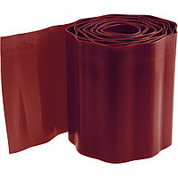 Бордюрная лента, 20х900 см, полипропиленовая, коричневая, Россия Palisad