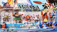 Игровой набор Моана и ее друзья (шесть фигурок) высота 5-8 см