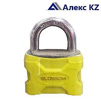 Замок BLOSSOM BJ 3050 навесной в пластике d-8,3 ключа
