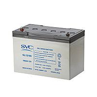 Гелевая аккумуляторная батарея SVC GL12100, 12В, 100 Ач