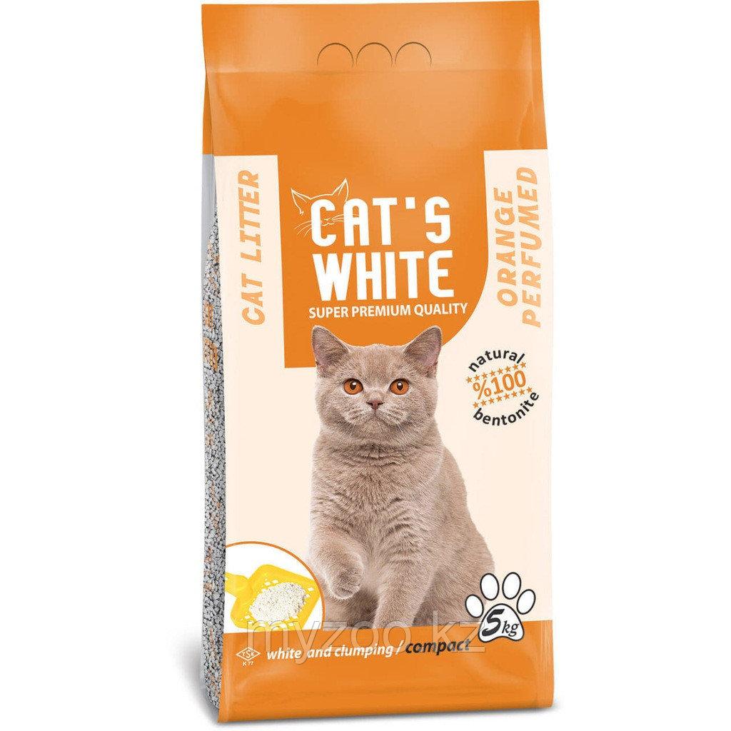Сat's white Orange 10кг Комкующий наполнитель