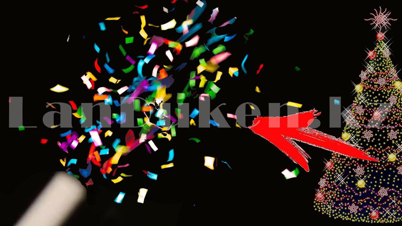 "Хлопушка конфетти праздничная ""Шампания"" 28 см - фото 3"