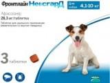 Фронтлайн НексгарД М– вкусная жевательная таблетка для собак от 4-10кг. от блох и клещей, уп. 3табл. 28мг.