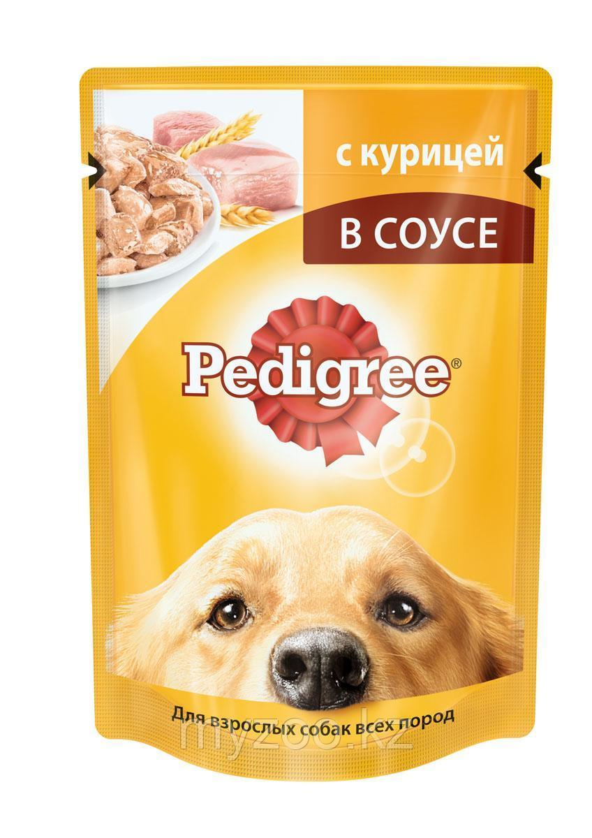Влажный корм Педигри для взрослых собак с курица 100 гр