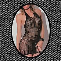 Сексуальное женское бельё чёрный DUPU 86067